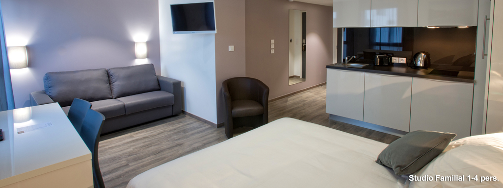 All suites appart h tel bordeaux pessac for Appart hotel long sejour bordeaux