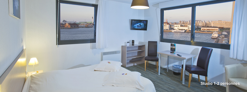 All suites appart h tel dunkerque for Appart hotel suite