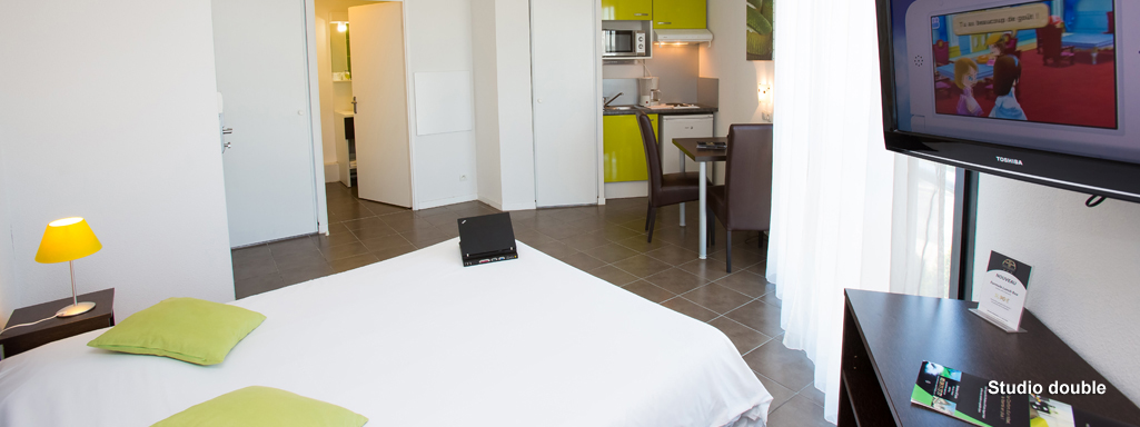 All suites appart h tel pau for Appart hotel pau