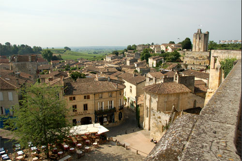Saint Emilion, village Unesco